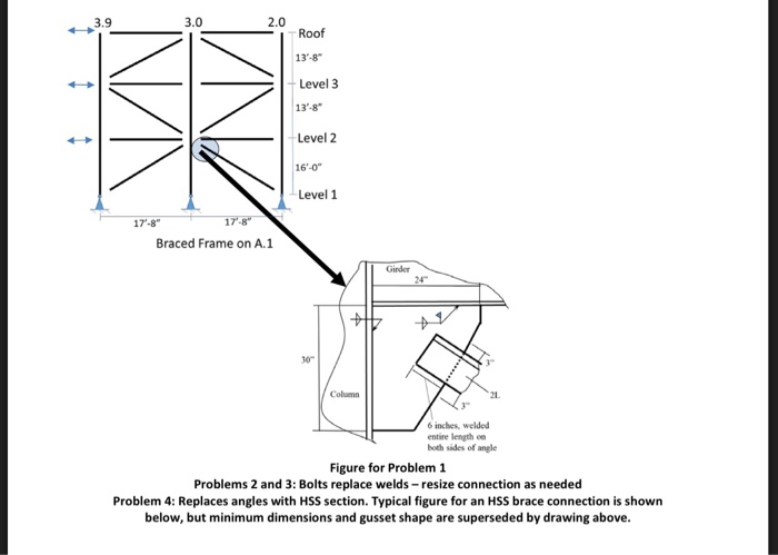 note pu 233 kips all tables and pages mentioned chegg com rh chegg com AISC Manual 14th Edition aisc hollow structural sections connections manual 1997