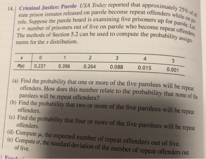 Solved: 25% Of All Le On State Prison Inmates Released On