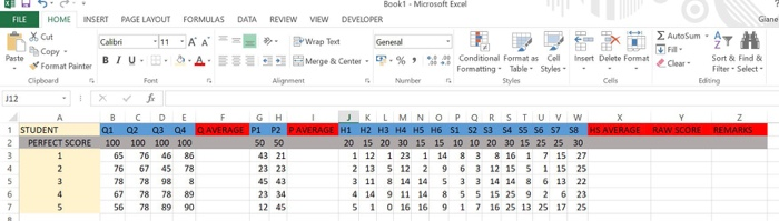 Solved: Use Microsoft Excel VBA Evaluate MG(Midterm Grade
