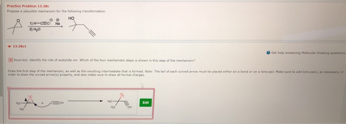 987d4a44989f Solved: Practice Problem 13.38c Propose A Plausible Mechan ...