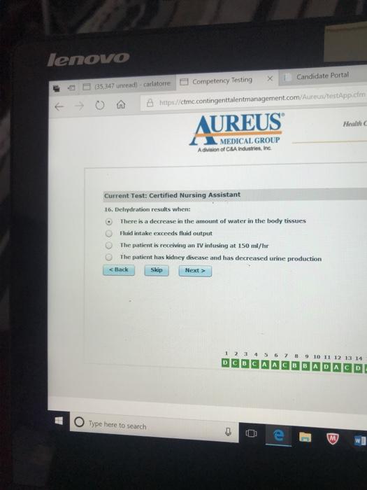 Solved Enovo Candidate Portal 6 35 347 Unread Carlatorr