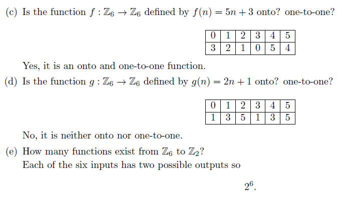 Solved: Help With Discrete Mathematics Functions I Need He...   Chegg.com