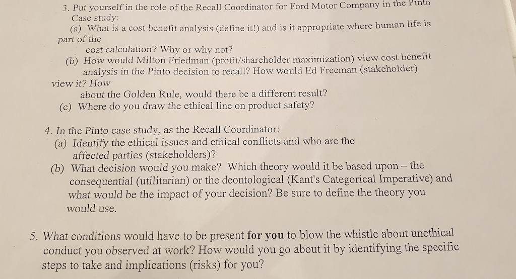 ford motor company case study analysis