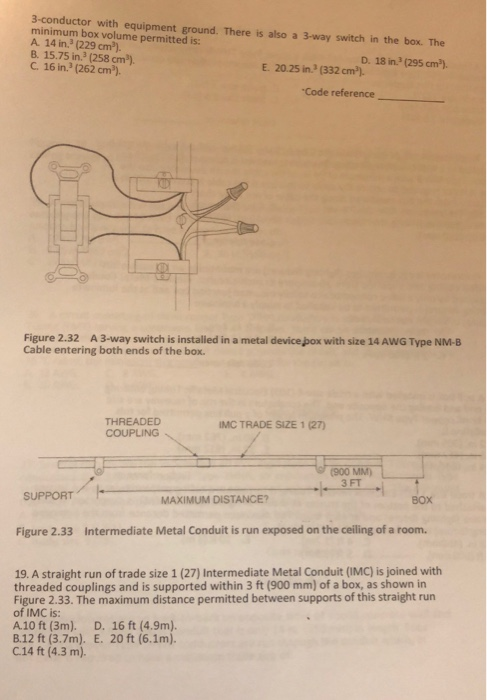 Solved: Applied Electricity NEC Worksheet T Hree Copper Co
