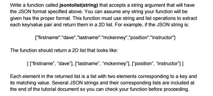 Solved: Pyhton (JSON To List) (Retrieving Values) (Settin