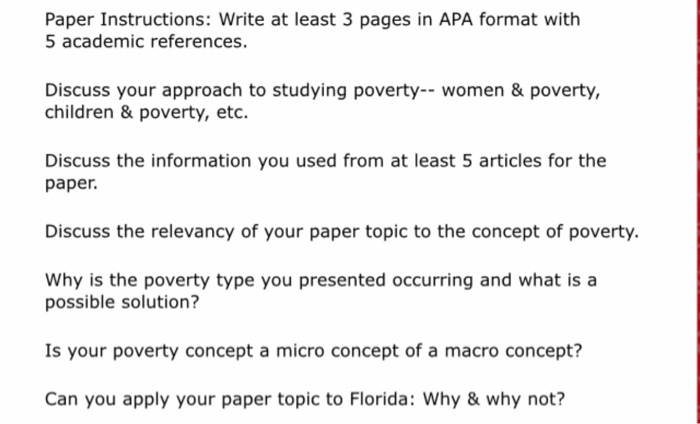 solved paper instructions write at least 3 pages in apa