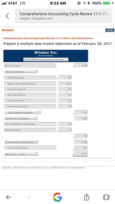 Solved Prepare An Adjusted Trial Balance Windsor Inc Tr