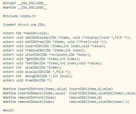 I Need C Files Da c / Cda c / Stack c / Queue c To