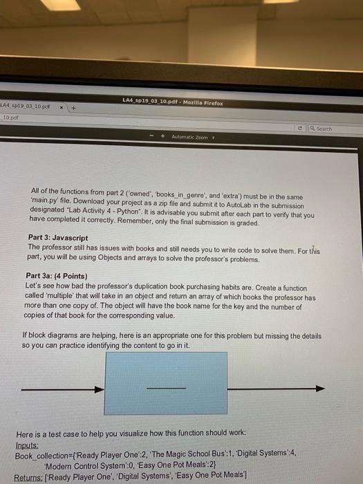 Solved: LA4 Sp19 03 10 pdf  Mozilla Firefox 10 Pdf C