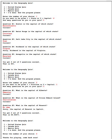 Write A Modular Program (a Program That Consists O... | Chegg.com on