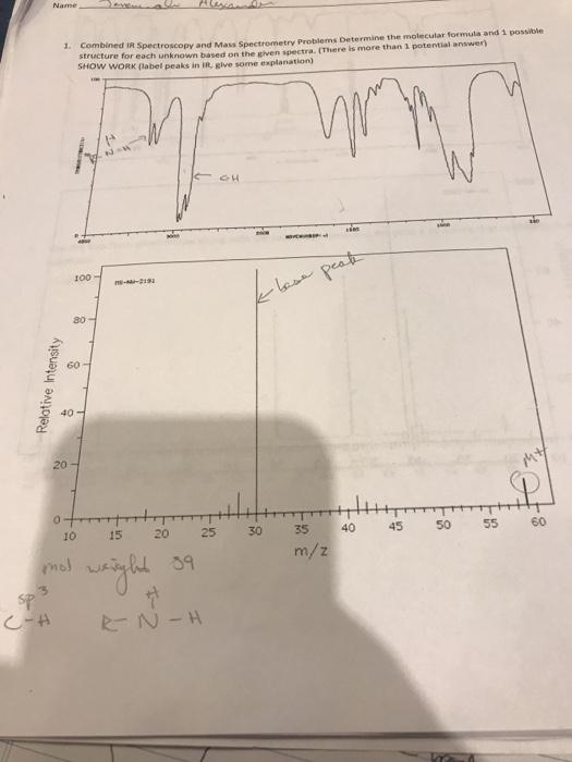 Combined IR Spectroscopy And Mass Spectrometry Pro