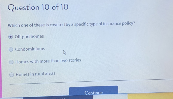 Solved: Question 10 Of 10 Which One Of These Is Covered By