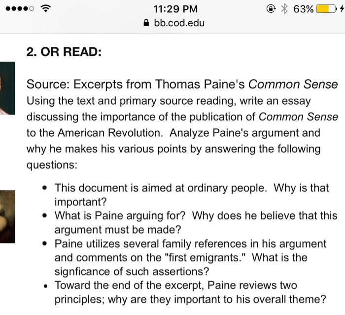 Using The Text And Primary Source Reading, Write A