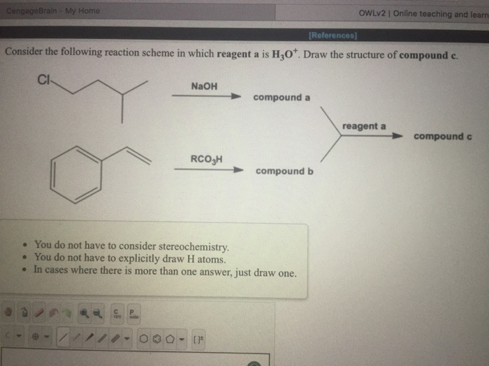 Solved: Consider The Following Reaction Scheme In Which Re ...