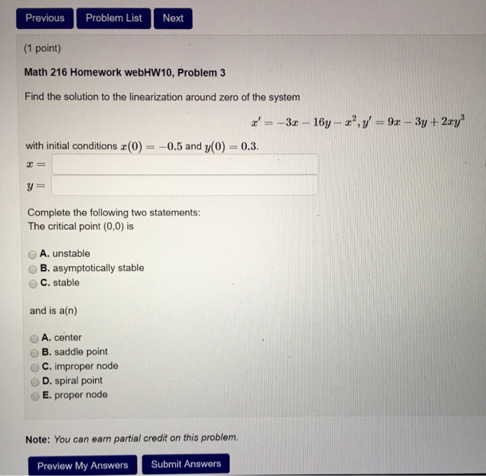 Solved: Can Someone Help Me Figure Out This Differential E ...