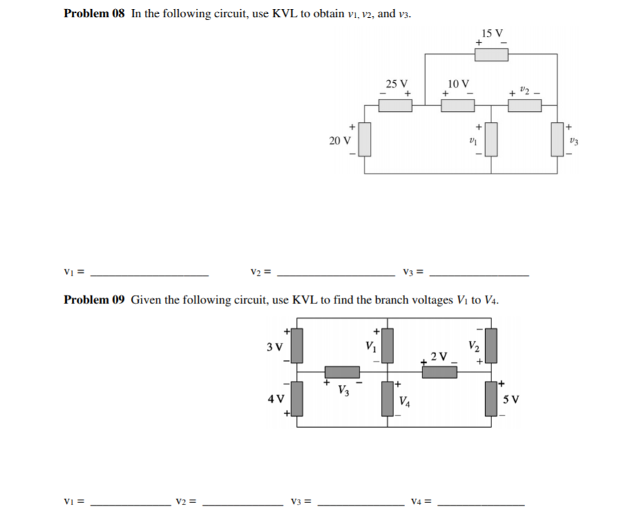 Solved: Hello, Please Help With The Following TWO ELECTRIC