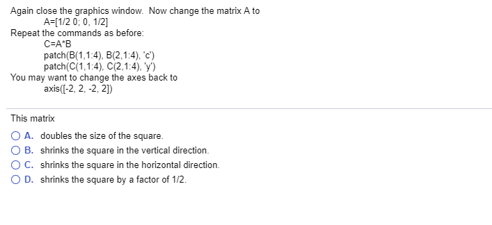 The Code In This Section Can Be Run In Either MatL    | Chegg com