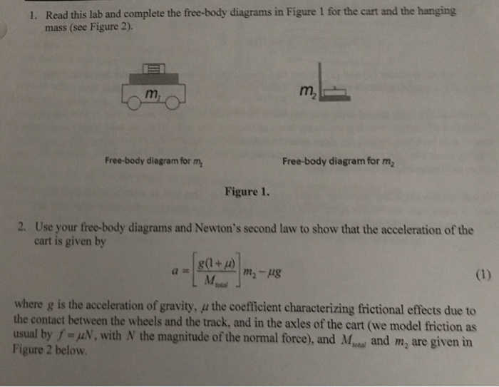 media%2F1a5%2F1a536061 85f0 4063 8af7 55346e978863%2Fimage solved read this lab and complete the free body diagrams