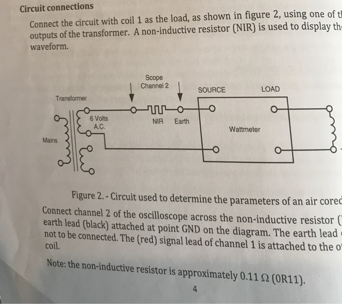 Solved: Why Does The Resistance, Reactance And Inductance