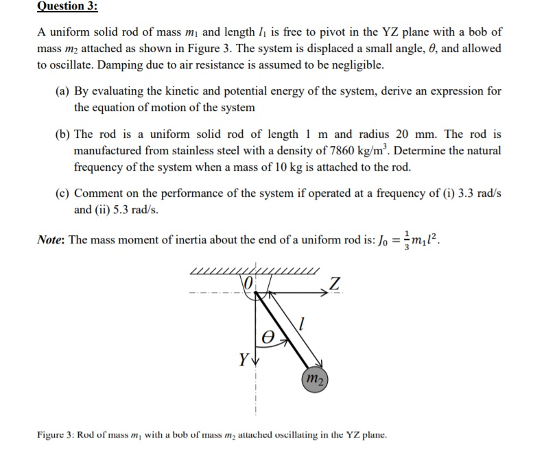 Solved: Question 3