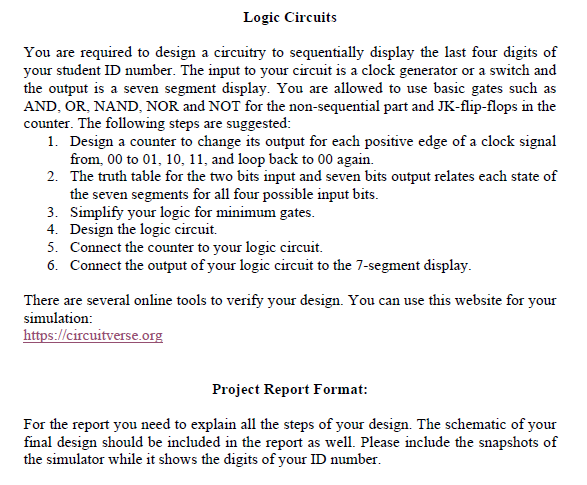 Solved: Last 4 Digits Of My Student ID Is 2983 Last 4 Digi