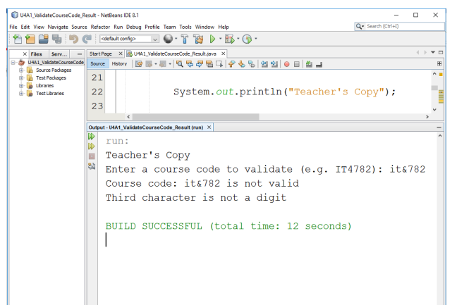 Solved: I Need A Sample Code For This In NetBeans Java Ple