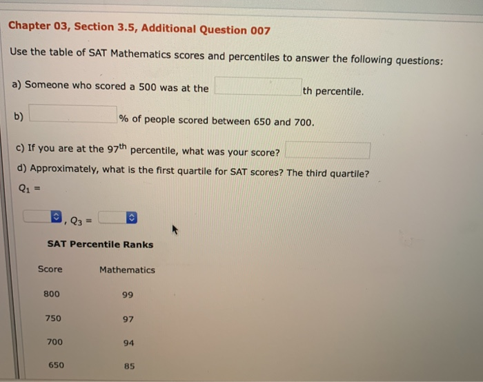 Solved: Chapter 03, Section 3 5, Additional Question 007 U