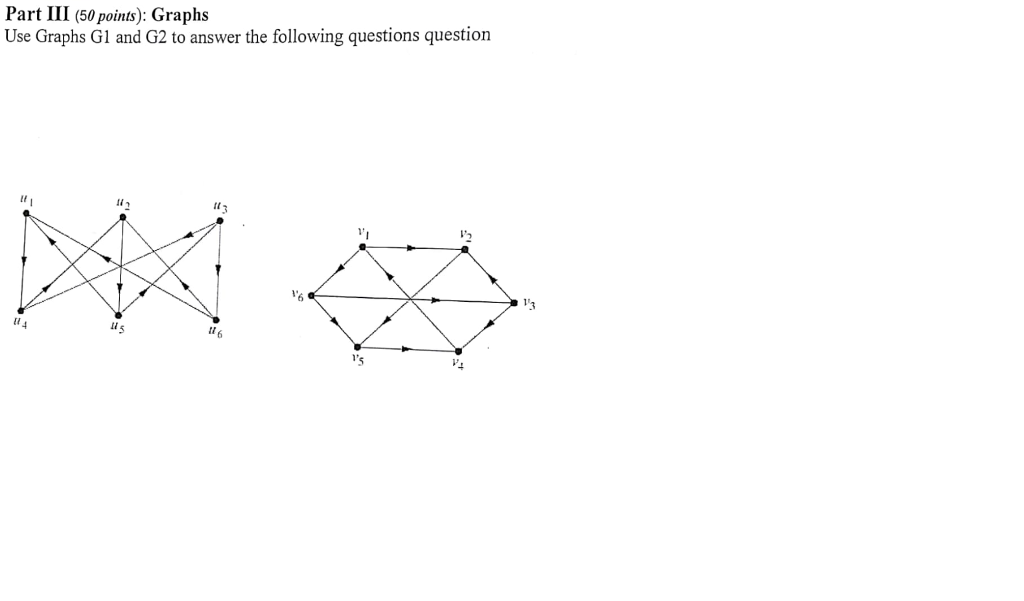 Solved: Discrete Maths This Is A Question That Has Two Par