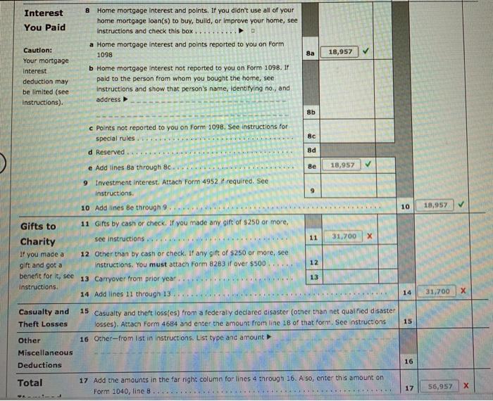 form 1040 gift received  Comprehensive Problem 177-17 John Williams (birthdate ...