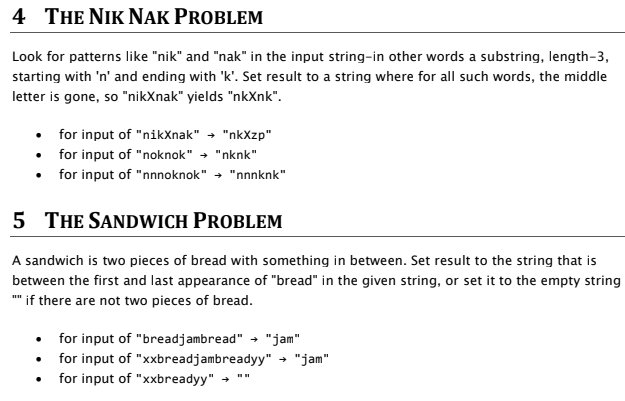 Solved: Hello, These Are Codingbat Problems For Java So Go