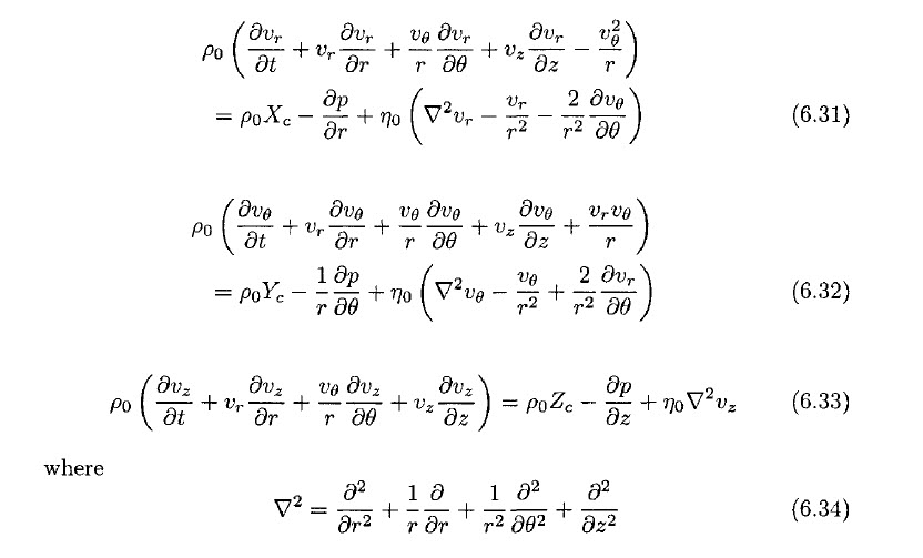 Solved: 7 1 Starting From The Navier-Stokes Equations Expr