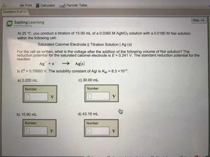 Solved Print Rh Calculator S Periodic Table Question 5 Of