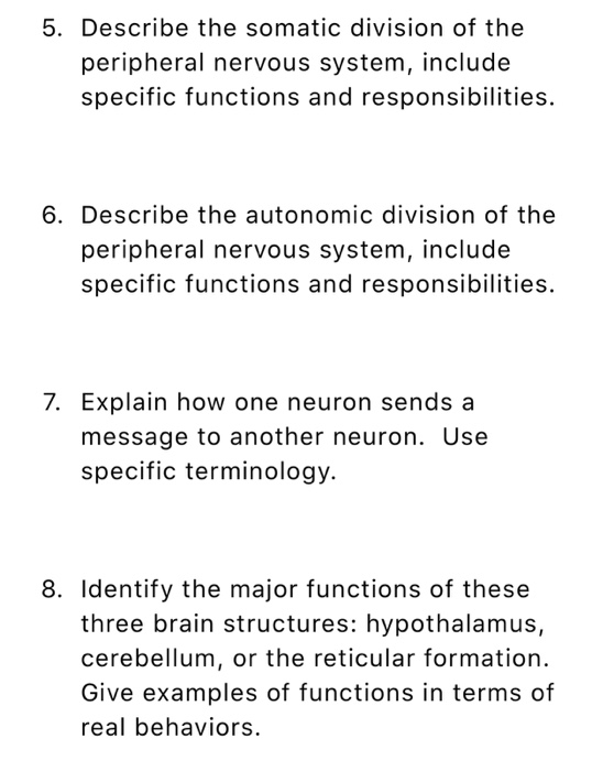 Solved 1 Discuss The Biological Approach To Psychology A
