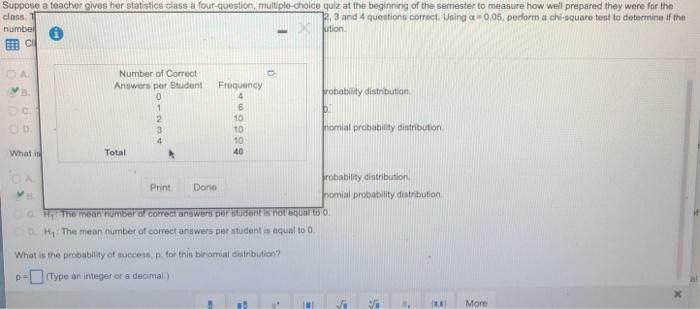 Solved: Suppose A Teacher Gives Her Statistics Class A Fou