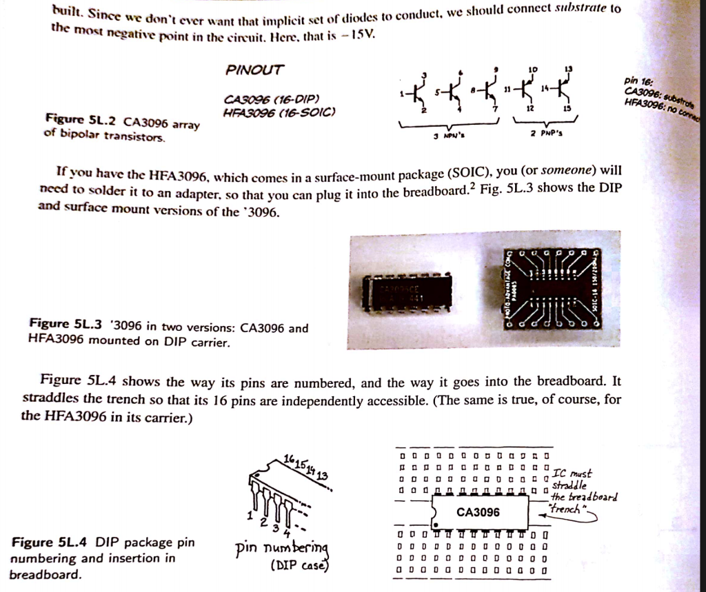 Solved Construct The Following Schematic Circuit Diagram To Breadboard Https Tinkercadcom Learn Circuits