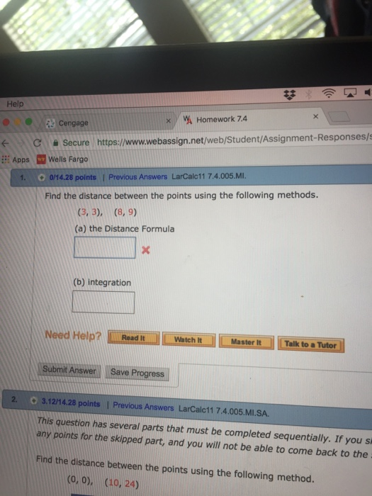 Solved: Help %) Yi Homework 74 Cengage Secure Https://www