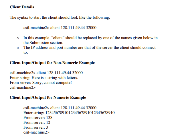 Example UDP C Client: Http://www linuxhowtos org/d