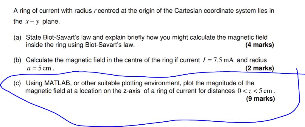 Biot Savart In Matlab