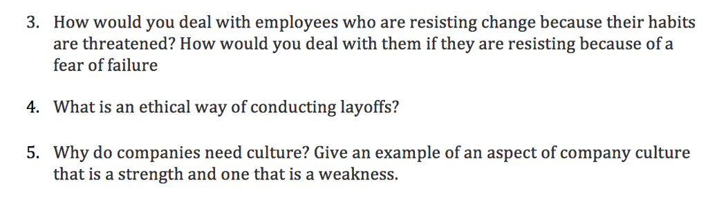 solved how would you deal with employees who are resist