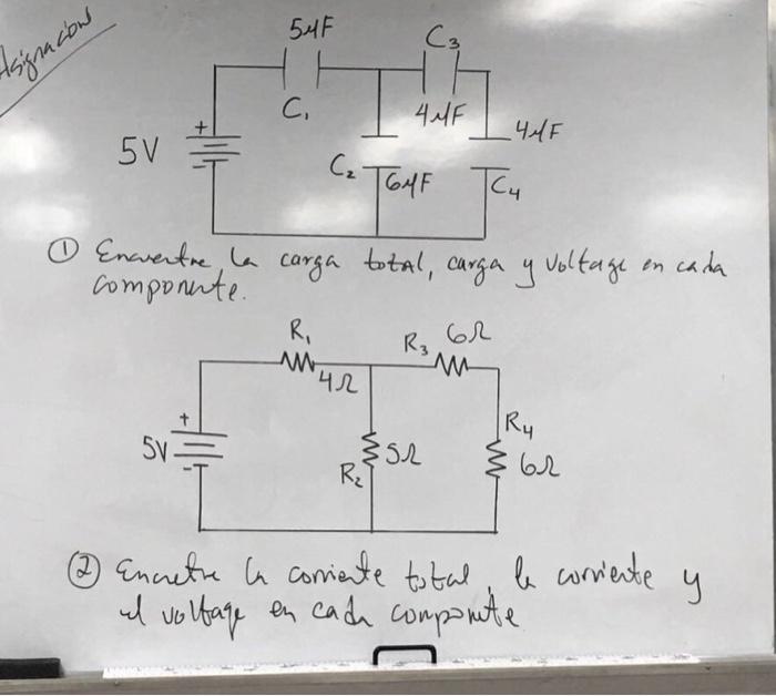 Solved: 54F 3 C, 44F 44F Bomponnte R3 4几 Sy 52 R. O2 Come