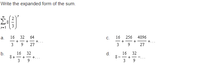 expanded form 64  Solved: Write The Expanded Form Of The Sum. C. 14 14 14 ...