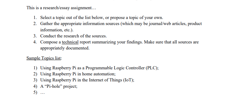Solved: This Is A Research/essay Assignment 1  Select A To
