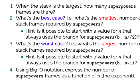 1 When The Stack Is The Largest, How Many Superpow    | Chegg com