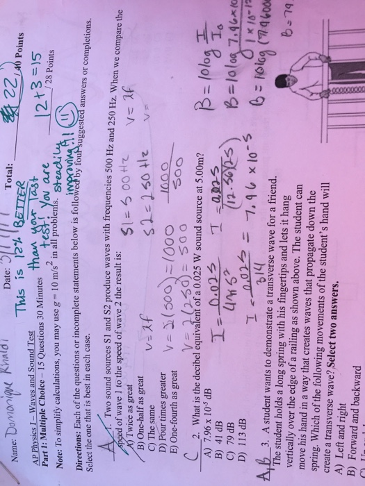 Solved: Ok So For The Answer It Made Sense To Me That It W