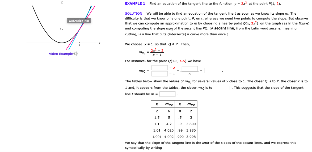 Solved: Find An Equation Of The Tangent Line To The Functi