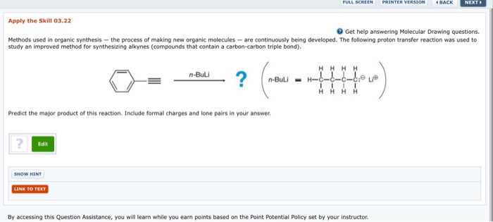 Solved Methods Used In Organic Synthesis The Process Of M