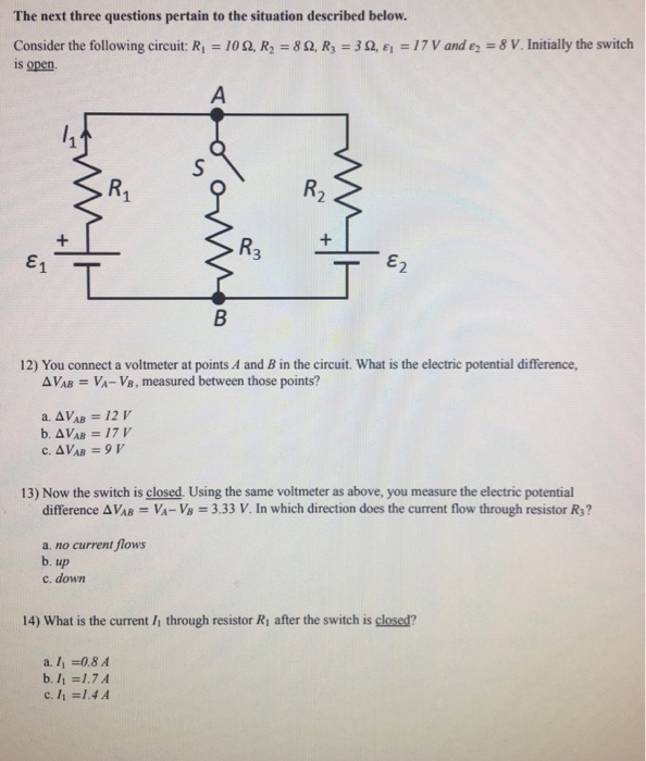 Solved: Doing A Practice Exam For Physics 2 And I Need Hel