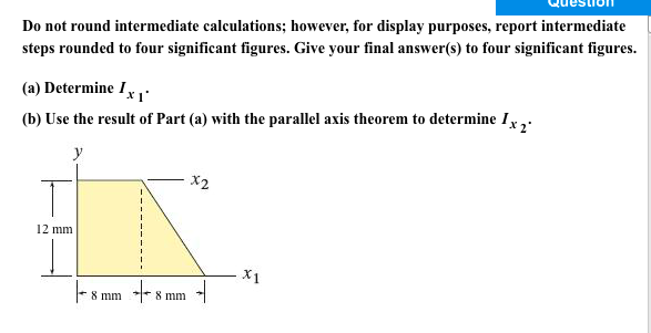 Solved Do Not Round Intermediate Calculations However F