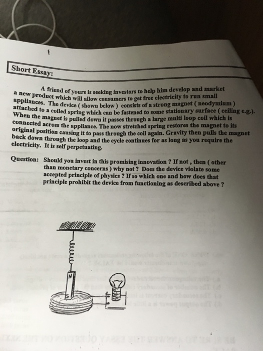 essay on magnet
