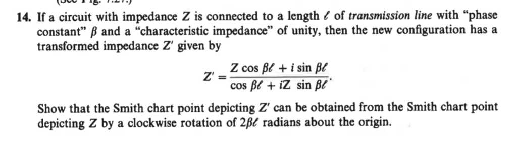 Solved: 14  If A Circuit With Impedance Z Is Connected To